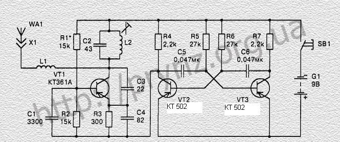 Схема радиоуправление для моделей своими руками